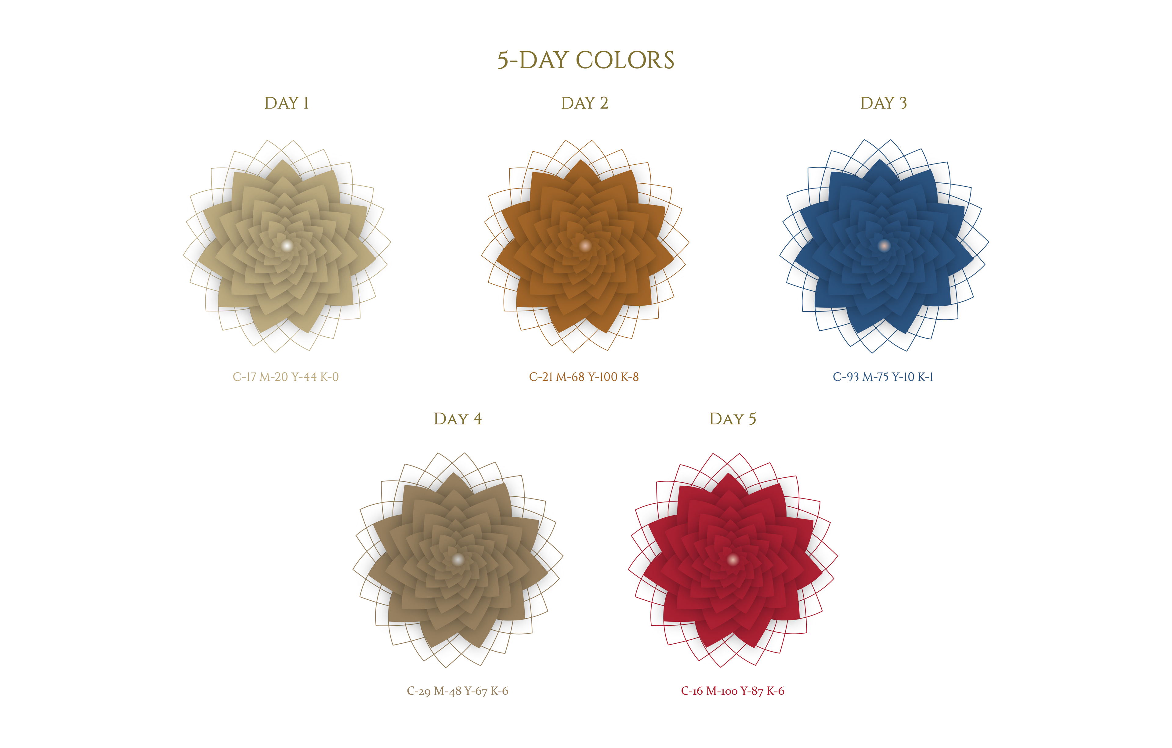 5-Day Colors